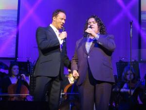 Russell and Jonathan Antoine at Nottingham : Sharon Moore via Twitter