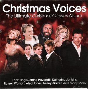 CD Cover Christmas Voices