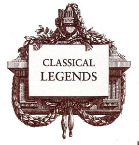 CD Cover Classical Legends