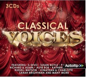 CD cover Classical Voices