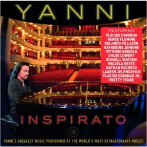 Russell Watson features on Inspirato by Yanni on Sony Masterworks available from Amazon.co.uk