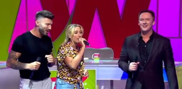 Capture - Loose Women 27 Aug 2018 _end song