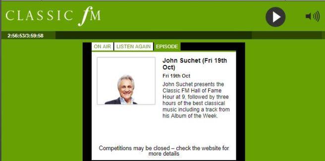 Capture - Classic FM Player _ John Suchet