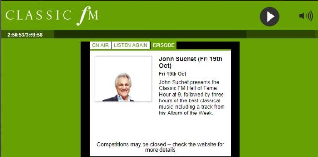 Capture - Classic FM Player _ John Suchet