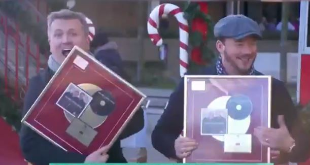 Capture _ R&A Gold Discs om This Morning TV